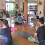 太陽礼拝108回&瞑想のレポート