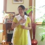シータ由美子先生のチャリティワークショップの様子