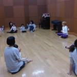 こむこむ福島で親子ヨガ講座