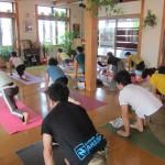 太陽礼拝108回&瞑想